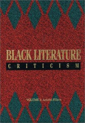 Black Literature Criticism cover