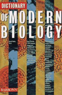 Cover image of Dictionary of Modern Biology