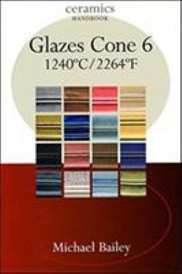 Book cover for Glazes cone 6: 1240°c/2264°f.
