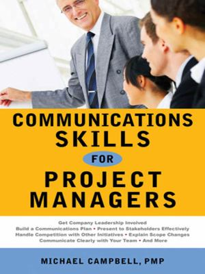 Cover art for Communications Skills for Project Managers