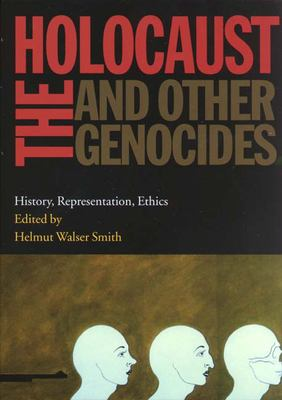 Book cover for The Holocaust and other genocides.