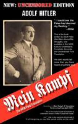 Book cover-Mein Kampf