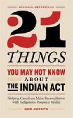 21 Things You May Not Know About the Indian Act - Opens in a new window