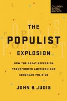 Populist Explosion book cover
