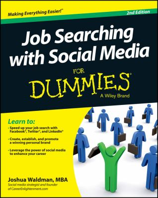 Job Searching with Social Media for Dummies Cover