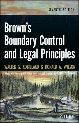 book cover: Brown's Boundary Control and Legal Principles