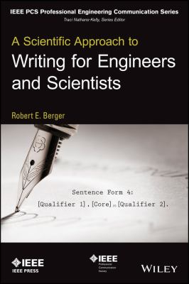 Cover art for Scientific Approach to Writing for Engineers and Scientists
