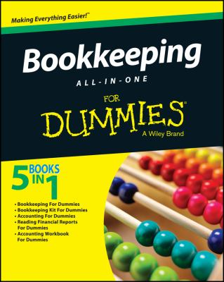 Bookkeeping All-In-One for Dummies - Opens in a new window