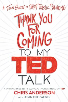Thank you for coming to my TED talk : , a teen guide to great public speaking