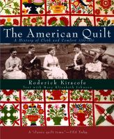 Book cover for The American Quilt by Roderick Kiracofe