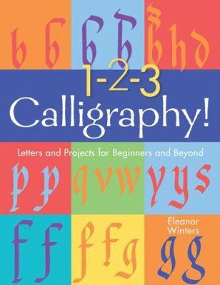 1, 2, 3: Calligraphy!
