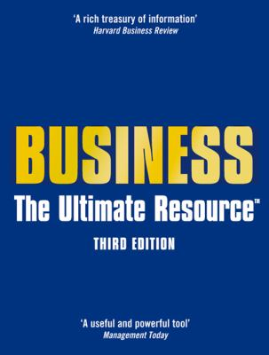 Book jacket for Business: The Ultimate Resource