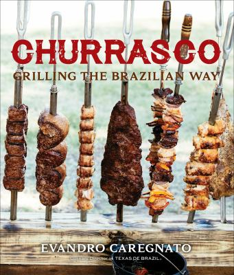 book cover image with skewers of meat