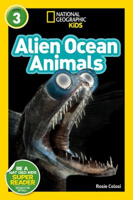Alien ocean animals