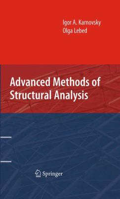 Book Cover: Advanced Methods of Structural Analysis