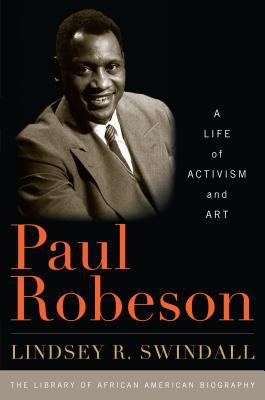 Book cover: Paul Robeson: a life of activism and art