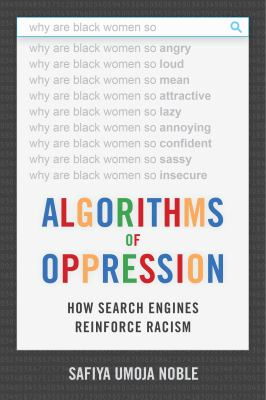 Algorithms of Opression Book Cover Art