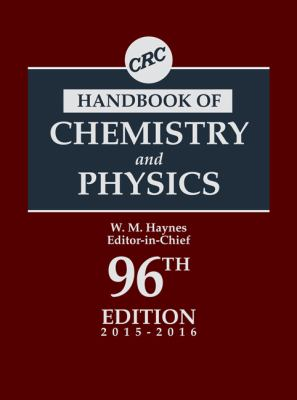 Cover art for CRC Handbook of Chemistry and Physics, 96th Edition