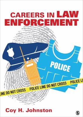 The book cover art contains a fingerprint, a police vest, a police had and radio