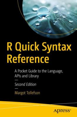 book cover: R Quick Syntax Reference