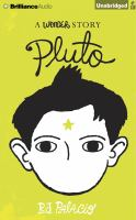 Cover image for Pluto a wonder story