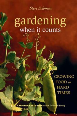 book cover image for Gardening When it Counts