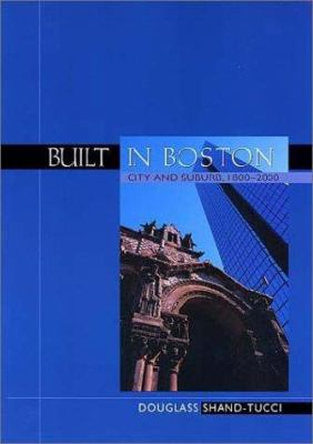 Cover art for the book, Built in Boston
