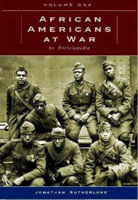 Book cover for African Americans at war.
