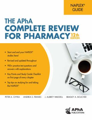Book cover: APhA Complete Review for Pharmacy