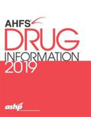 Book Cover: AHFS Drug Informaiton