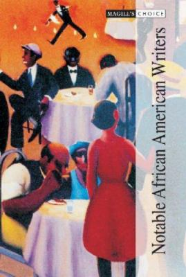 Book cover for Notable African American writers.