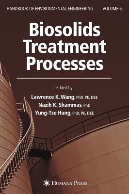 book cover: Biosolids Treatment Processes