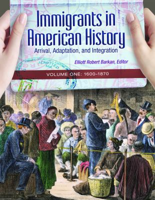 Book cover for Immigrants in American history.