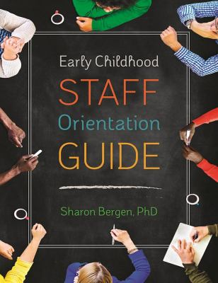 Cover Art: Early childhood staff orientation guide