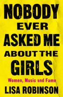 Nobody ever asked me about the girls book cover