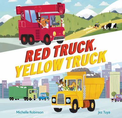 Red truck, yellow truck