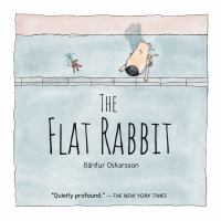 Book cover for The Flat Rabbit