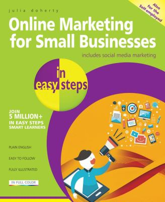 Online Marketing for Small Businesses in Easy Steps Cover Art