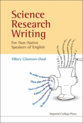 Cover art for Science research writing for non-native speakers of English