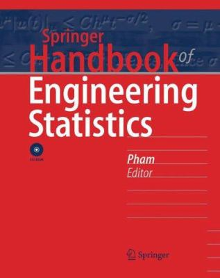 book cover: Springer Handbook of Engineering Statistics