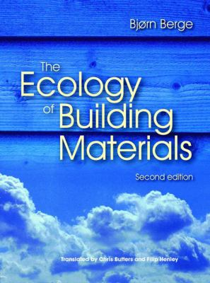book cover: The Ecology of Building Materials