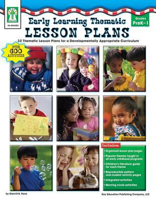 Early Learning Thematic Lesson Plans Cover Art