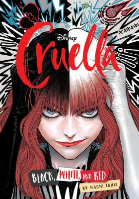 Cruella : black, white, and red