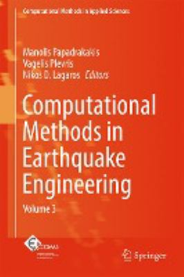 book cover: Computational Methods in Earthquake Engineering Vol 3