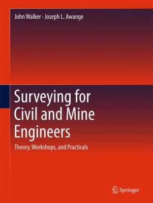 book cover: Surveying Techniques for Civil and Mining Engineers