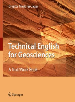 Cover art for Technical English for geosciences [electronic resource] : a text/work book