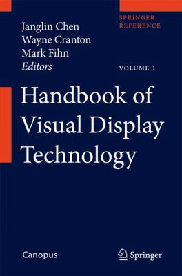 book cover: Handbook of Visual Display Technology