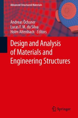 Book Cover: Design and Analysis of Meterials and Engineering Structures