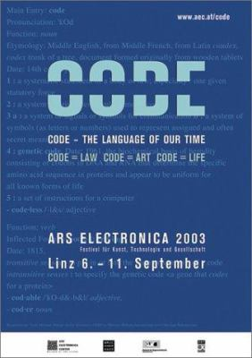A book cover with a blue background and faint blue lines of code in the background. There is white and pale blue text on the background.