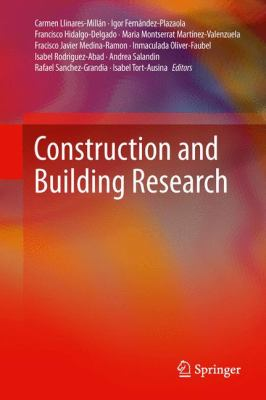 book cover: Construction and building research